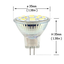 High Bright 3W 5W 7W MR11 GU4 LED Spot Light Bulb Lamp 12V 9LEDs 12LEDs 15LEDs 5730 SMD Cold White Warm White Replace Halogen