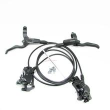 цена на NUTT MTB Bike brake Hydraulic Disc brake 2pcs 800/1400mm bicycle bike clamp mountain bike parts Update Oil pressure Brake set