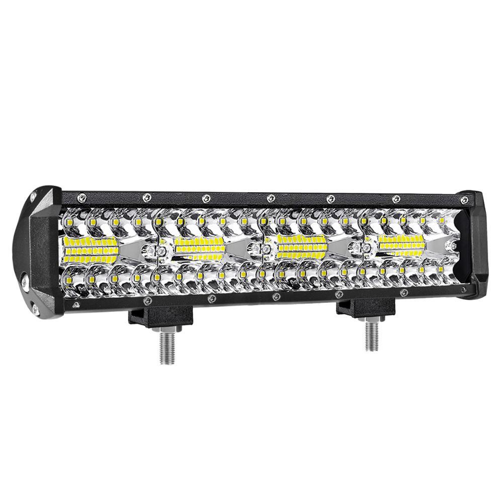 Aeobey 12 Inch 240W 80led Off Road Led Light Bar Curved LED Driving Lights 4x4 Offroad Truck SUV ATV Tractor Boat 12v 24v