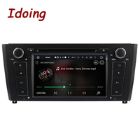 Idoing 2G Android7.1 1Din Steering Wheel For BMW E81/82/87/88 Quad Core Car Multimedia Player TV Fast Boot Built in 3G Dangle