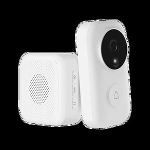 Image 4 - Xiaomi MIJIA חכם פעמון חזותי + מקורה מקלט קול גופנים 1080p 120 ° זווית אינפרא אדום ראיית לילה Xiomi לעבוד עם MIJIA APP