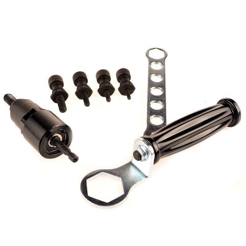 MXITA Electrical Rivet Nut Gun M4 M5 M6 M8 M10 Cordless Nut Riveter Drill Adapter Rivet Nut Tool Electrical Nut Riveter