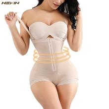Hexin modelador de corpo inteiro, modelador de cintura para emagrecimento, espartilho, levantador de bumbum