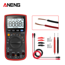 AN860B+ LCD 6000 Counts RMS Digital Multimeter resistance  current Voltage Tester Electronic Multimeters With Temperature Tester effiency digital lcd meter multimeters voltmet electric voltage tester tool