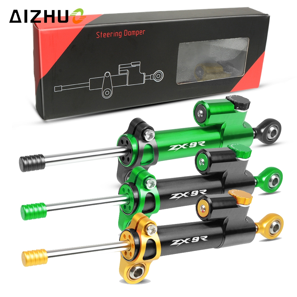 Universal Motorcycle Damper Steering Stabilize Safety Control For KAWASAKI ZX9R ZX 9R ZX9 R ZX-9R 1998 1999-2003 2002 2001 2000