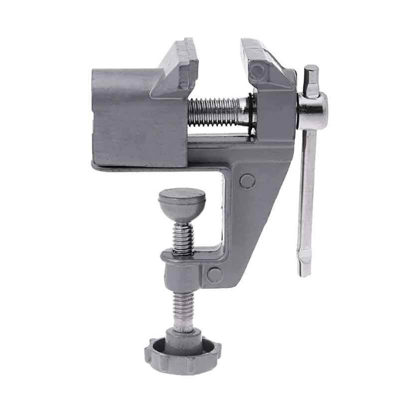 30mm Mini Universal Banco Braçadeira Parafuso Vise Tabela Vice Furadeira Elétrica Repair Fixo Ferramenta Família Pequena Fábrica de Peças para ofício DIY
