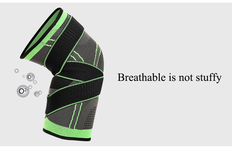 Kneepad Support Professional Protector Sports Knee Pads Breathable Bandage Knee Brace Basketball Tennis Cycling (32)