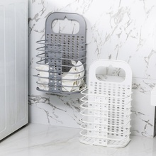Foldable Laundry Basket Toy Household Wall Hanging Kids Toys Organizer Bathroom Accessories