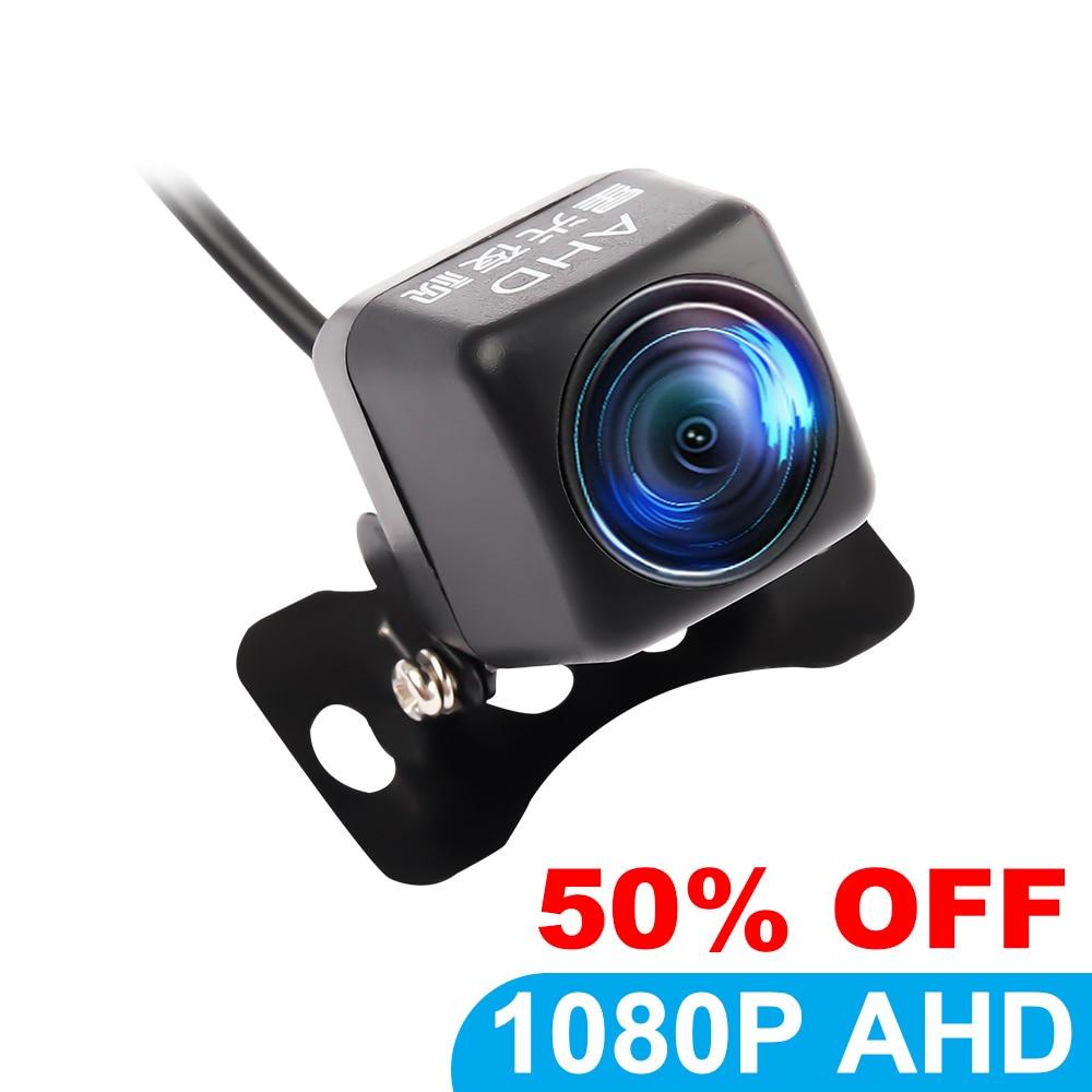HD 1080P Автомобильный монитор ночного видения камера заднего вида Автомобильная резервная камера заднего вида AHD парковочная помощь водонепр...