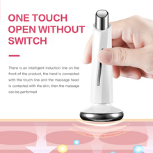 RF Skin Beauty Instrument Ultrasonic eye Massager Anti-aging Wrinkle Device Slimming Facial Wrinkle Removal Skin Care tool thermo color ion introduction eye massager electric eyes care device lips beauty instrument anti aging wrinkle massage tool