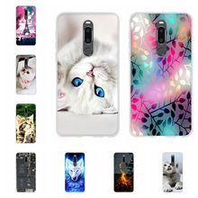 цена на For Meizu M8 Phone Case Ultra-slim Soft TPU Silicone For Meizu V8 Pro Cover Cute Cartoon Patterned For Meizu V8 pro Bumper Shell