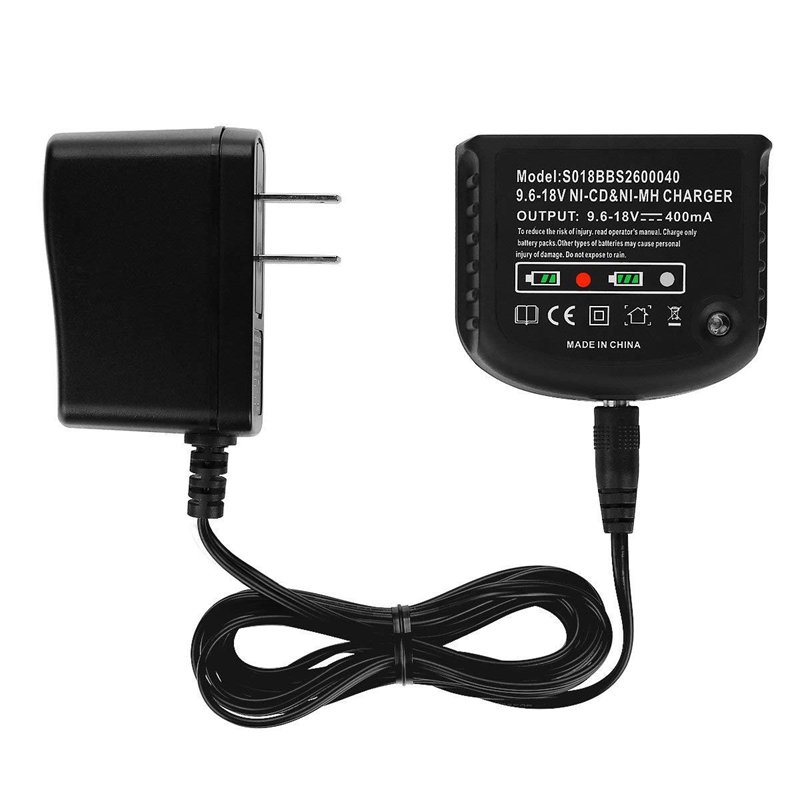 9.6V-18V Charger For Black And Decker ,Black & Decker Charger Ni-Cd Ni-Mh A18 Hpb18 A14 Hpb14 A12 Hpb12 ,Us Plug