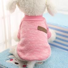 Хит, свитер для питомцев на Хэллоуин, Рождество, одежда для щенков, одежда для собак, мягкая теплая одежда для собак, чихуахуа, Классическая Одежда для питомцев, Ropa