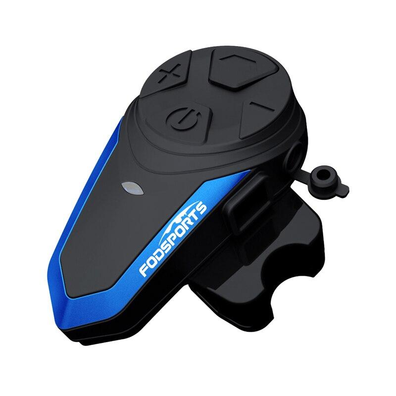 1pc BT S3 Motorcycle Helmet Intercoms 1000m Motor Headset 2 Riders Helmet Intercom FM Radio Headset Motorcycle +soft Microphone