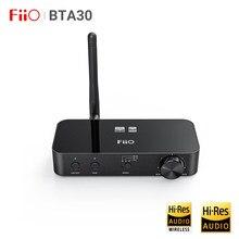 Fiio bta30 decodificador de áudio de alta fidelidade dac ak4490 fone de ouvido amp dsp sem fio bluetooth 5.0 pc tv transmissor receptor aptx hd/ldac/dsd64