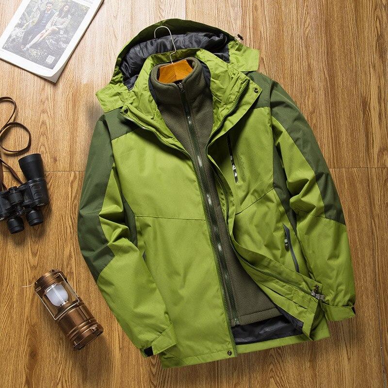 Ski Jacket Men Waterproof Warm Winter Snow Jackets Windproof Sportwear Male Cotton Skiing Coat Snowboarding Clothing