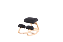 Ergonomic Kneeling Chair Knee Stool for Better Posture Perfect for Body Shaping and Stress Relief in Home Office (Black red) cheap Sim Luxury CN(Origin) Dining Room Furniture Minimalist Modern Dining Chair Home Furniture Wooden Solid Wood Beech