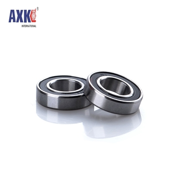 2pcs 6800ZZ 6801ZZ 6802ZZ 6803ZZ 6800-2RS 6801-2RS 6803-2RS Thin Wall Metal Shielded Bearing Rubber Sealed Bearing Ball Bearings image