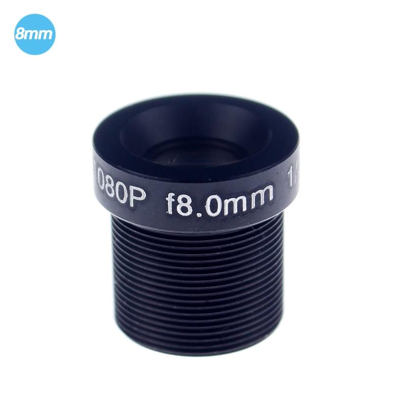 CCTV Lens 1080P 2MP 45degreee 1/2.7'' 8mm For HD Full HD CCTV Camera IP Camera M12*0.5 MTV Mount