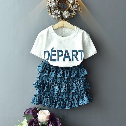 crianca das meninas roupas camiseta leopardo