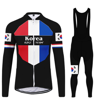 WAMNI Джерси mujer Ретро элемент Велоспорт Джерси Набор с длинным рукавом MBT High Street крутые велосипедные брюки Мода 2020