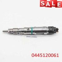 ERIKC 0445120061 자동 엔진 인젝터 Assy 0 445 120 061 Bosch MAN 0445 용 오리지널 커먼 레일 인젝션 120 51101006064 061