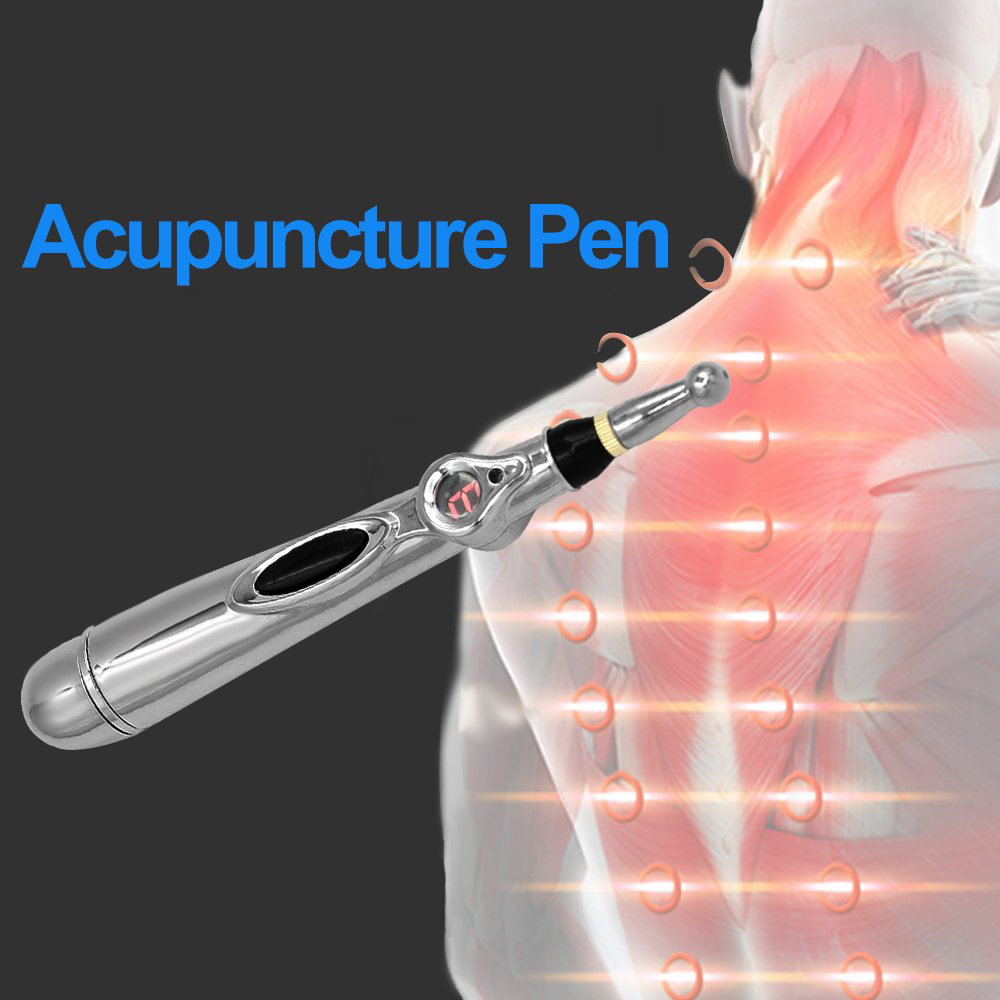 Electronic Acupuncture Pen Relief Pain Acupoint MassagerTherapy Heal Acupuncture Pen Full body Massager Relief Pain Tools