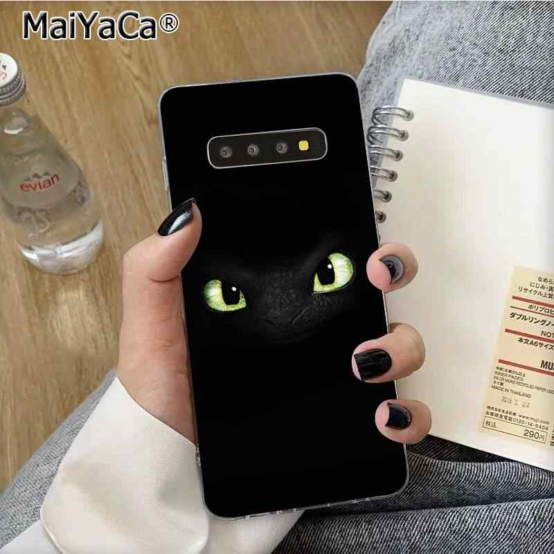 MaiYaCa Toothless How To Train Your Dragon fundas Phone Case for Samsung S10 E S9 plus S6 edge plus S7edge S8plus S10 plus S5