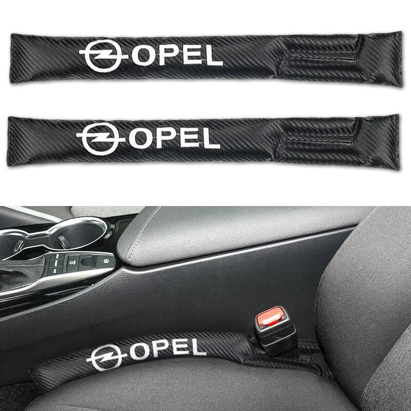 cheapest 2PCS Car Seat Gap Pad Spacer Fillers Slot Plug For Peugeot BMW MINI Audi Ford Honda Toyota SUZUKI LADA Renault Car Accessories