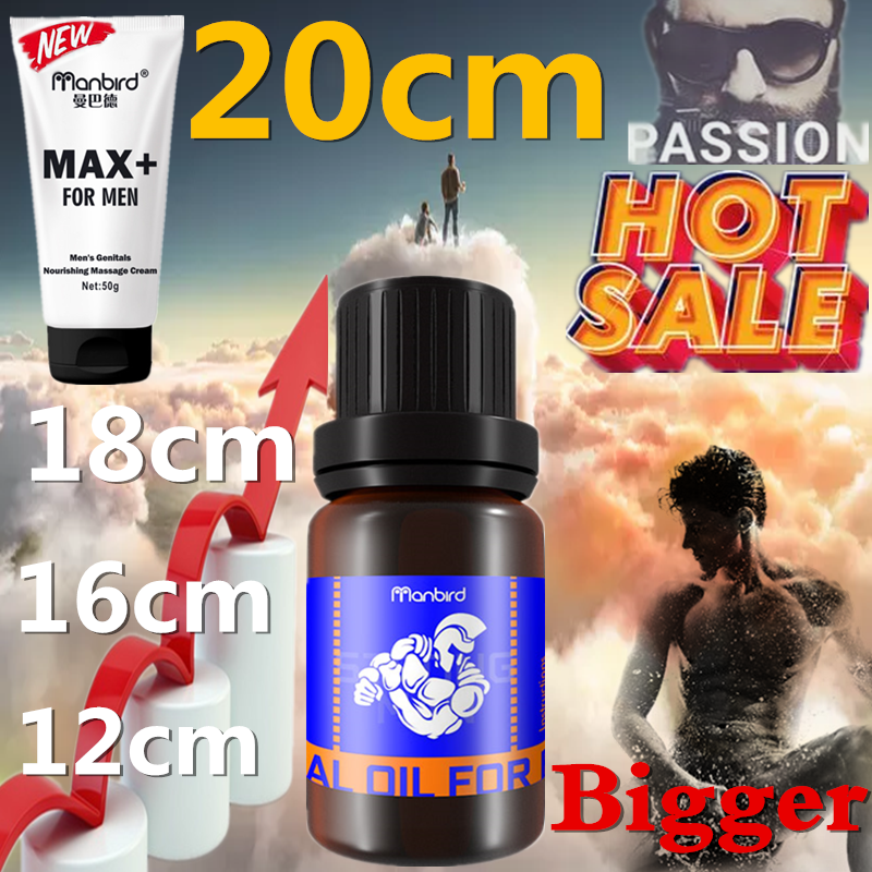 Original Men Penis Enlargement Essential Oil Cream Big Dick Increase Liquid Delay Premature Ejaculation Penile Growth Sex Lube