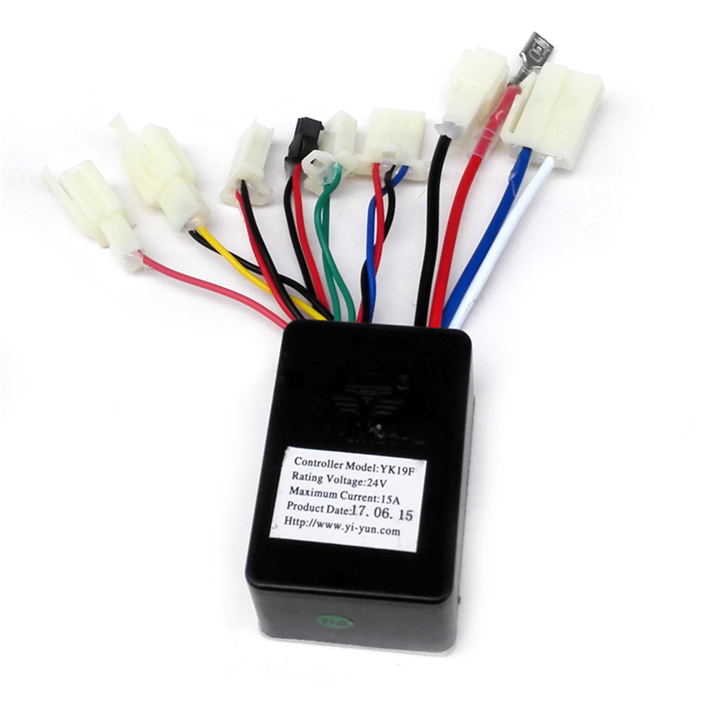 24V15A Brush Motor Controller YK19F for Small Surfing Electric Scooter Mechanically Normally Closed Brush Motor Controller