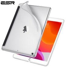 ESR чехол для iPad 7 10,2 прозрачный ТПУ задняя крышка тонкий отскок мягкий чехол для iPad 7th чехол подходит с Умной клавиатурой