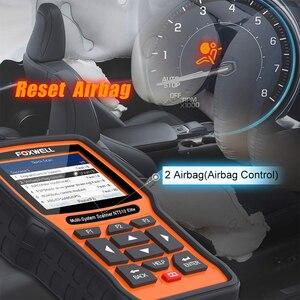 Image 4 - FOXWELL NT510 Elite All System OBD2 автомобильный сканер ABS Bleeding DPF TPMS BMS считыватель кодов масла Профессиональный сканирующий инструмент