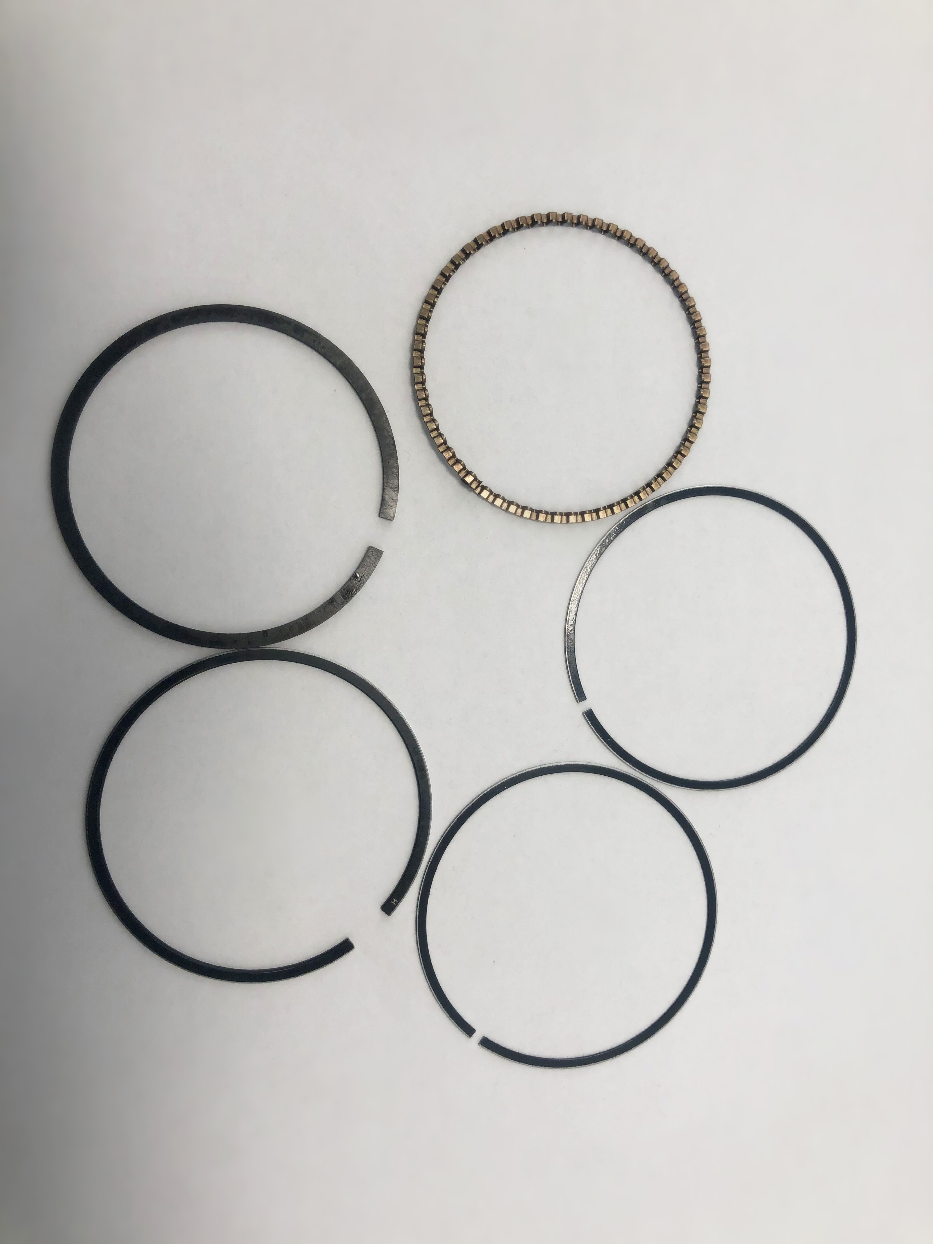 Boat Motor Piston Ring Set (Standard) 69M-E1603-00-00 69M-E1603-01-00 For Yamaha 4-stroke F2.5A Outboard Engine