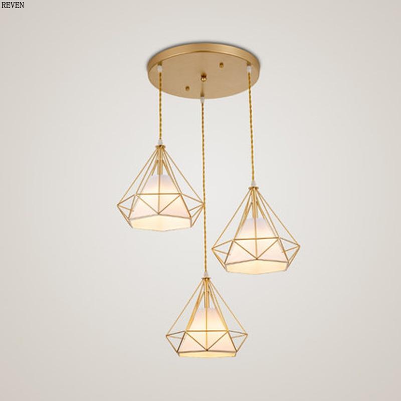 Minimalist modern chandelier lamp for living room dining bar kitchen hanging Led chandelier lamp