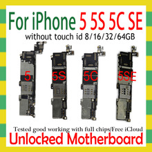 Sbloccato originale per iphone 5 5C 5s 5SE SE scheda madre, smontare per iphone 5 5g scheda logica con sistema IOS