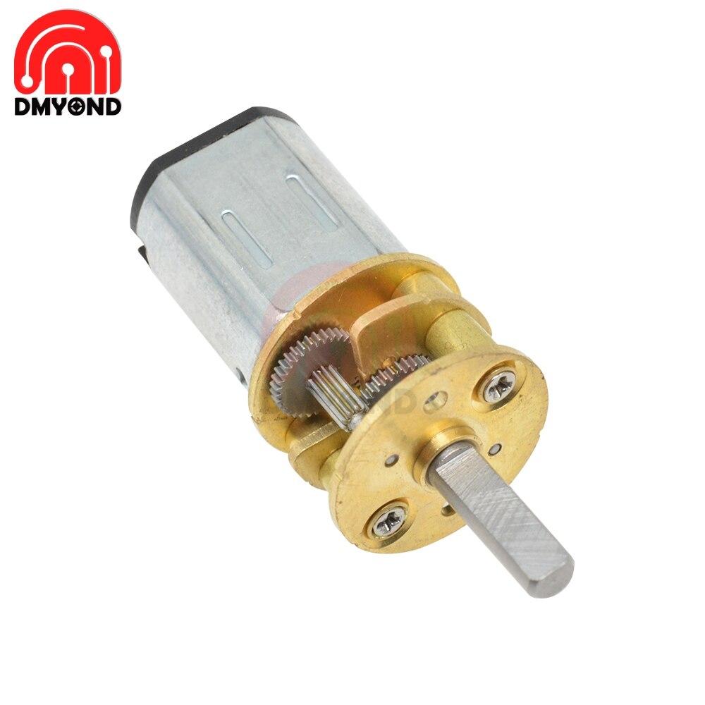 3V 6V 12V 30 50 100 150 200 300 400 600 1000 RPM Linear Electric Miniatura Motor for Home Appliance Fan Car Hobby Toy RC Car