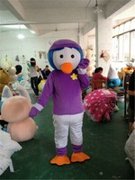 2019 Adults Duck Mascot Costume Suits Party Game Dress Outfits Promotion Carnival Hallowen Cosplay Unisex Gifts Fursuit Clothing