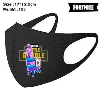 Fortnites kid adult Mouth Mask Face Mouth  Anti Dust royale battle boys Man Masks Reusable Washable Dust-proof Alpaca face Mask 5