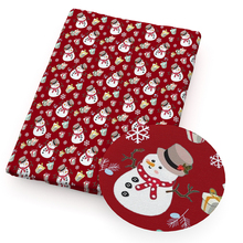 Snow-Printed Patchwork Fabric Sewing Tilda 100%Cotton-Fabric for Garment Quilting Tilda/Doll/1yc13210