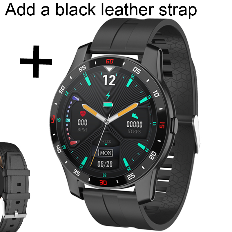 Add black leather