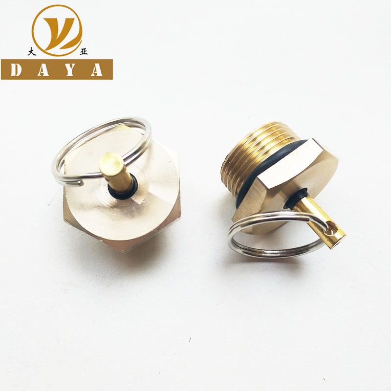 <font><b>M22x1.5</b></font> Brass Drain Valve 153 Vehicle Water Tank Water Drain Switch Air Tank Drain Valve Exhaust Valve Drainage Valve image