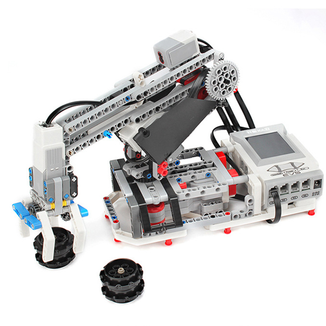 2020 New Programmable Building Block Assembly Robot Kit DIY Multifunctional Educational Learning Kit Toy Games Test Kit