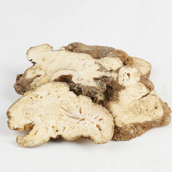 100% Natural Organic Bai Zhu Macrocephalae Rhizoma Atractylodes Macrocephala Dried Root Sliced Chinese Herbal Medicine