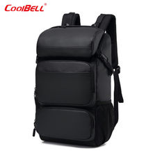 COOLBELL Backpack 17.3inch Large Capacity Business Backpack Multi-function Outdoor Fashion Travel Backpack Anti-theft Laptop Bag(China)