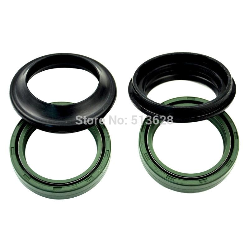 37*50*11 Motorcycle Front Fork Damper Oil Dust Seals Set Kit For Honda CRF230F 03-16 CRF230L 08-15 CRF230M 09 Shock Absorber