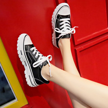 Autumn Woman Shoes Surface White Casual Breathable Flats Fashion Lace-Up Sneakers Women Vulcanized Shoes Leather Platform Shoes weideng casual women genuine leather flats vulcanized shoes sneakers schoolfashion white lace up slip on women shoes summer 2018