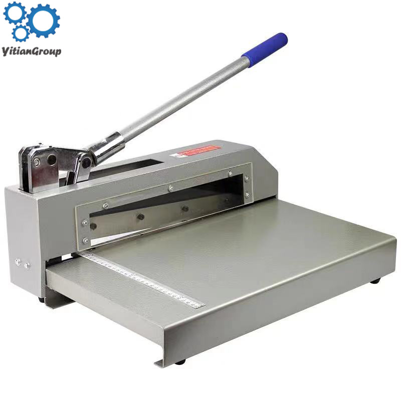 Strong Shearing Cuting Knife Aluminum Sheet Cutter Heavy Duty PCB Board Polymer Plate Metal Steel Paper Cutting Machine