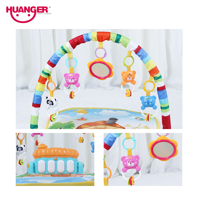 Baby play mat musical Rack Kid Rug Puzzle Carpet Piano Keyboard Infant Playmat Early Education Gym Crawling Game Pad Toys | Happy Baby Mama
