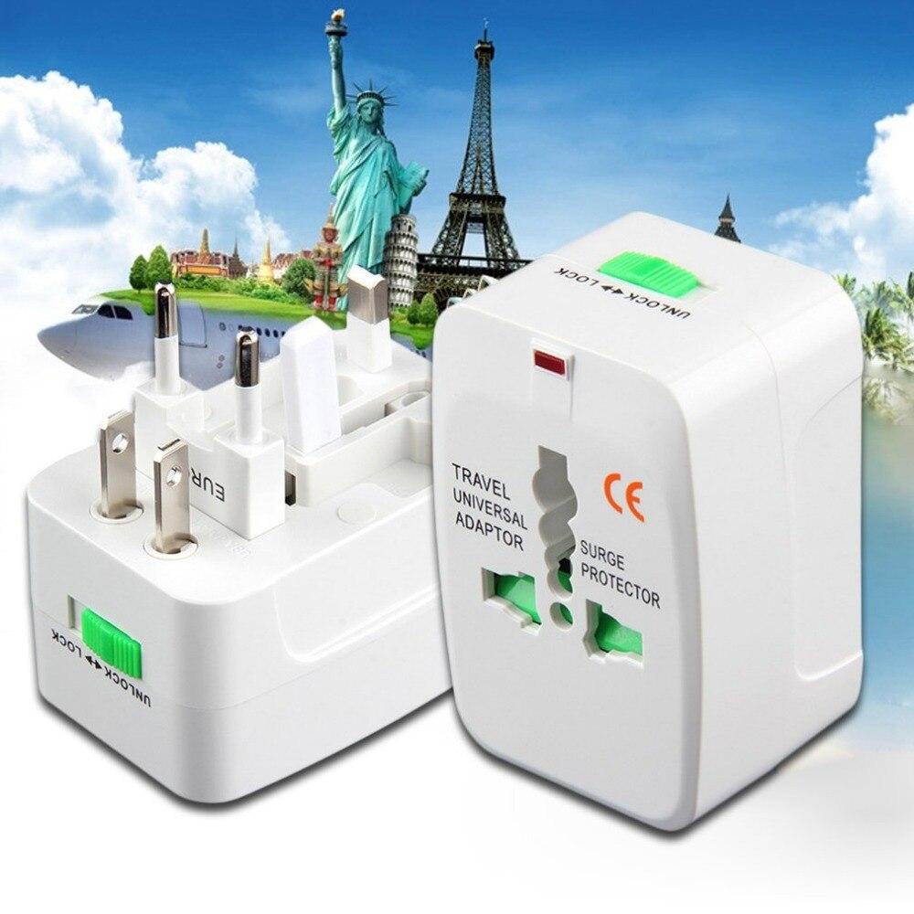 Универсальный Портативный адаптер путешествия розетка конвертер Многофункциональный все в 1 путешествия электрические Мощность Подключи...